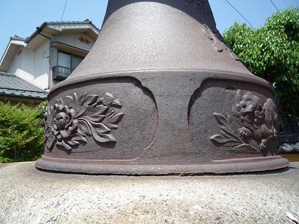 阿曽の鋳物灯籠03